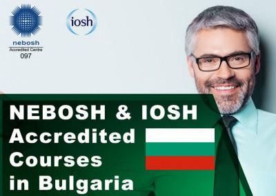 NEBOSH Courses Sofia/Pravets, Bulgaria
