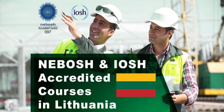NEBOSH Courses Vilnius, Lithuania