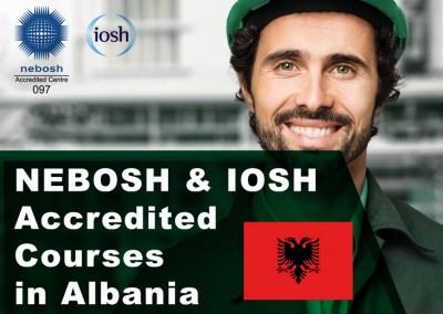 NEBOSH Courses Tirana, Albania