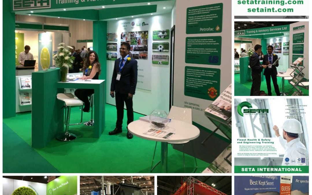 Visit us on Safety & Health Expo at Excel London