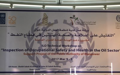'Inspection of Occupational Safety and Health in the Oil Sector' for OSH Inspectors in Kuwait